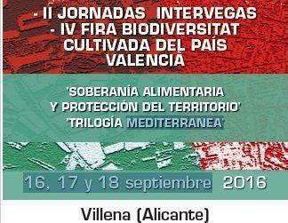 Villena acoge la IV Feria de la Biodiversidad Cultivada y las II Jornadas Intervegas